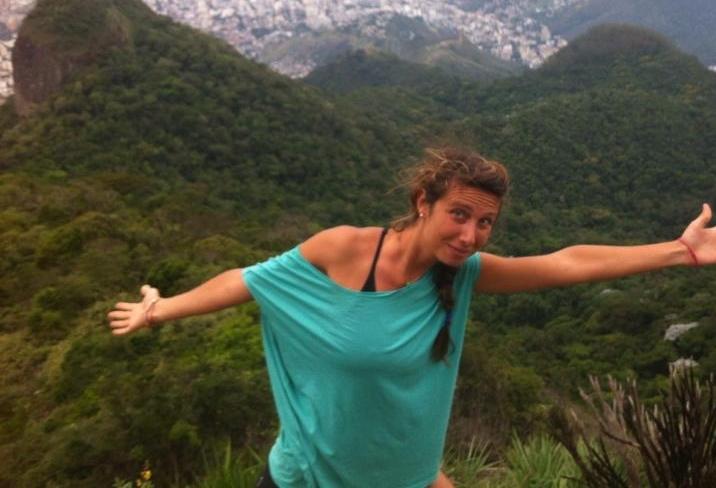 Italiana Gaia Molinari foi encontrada morta em Jericoacara, cerca de 1 ano antes do crime contra a alemã (FOTO: Reprodução/Facebook)
