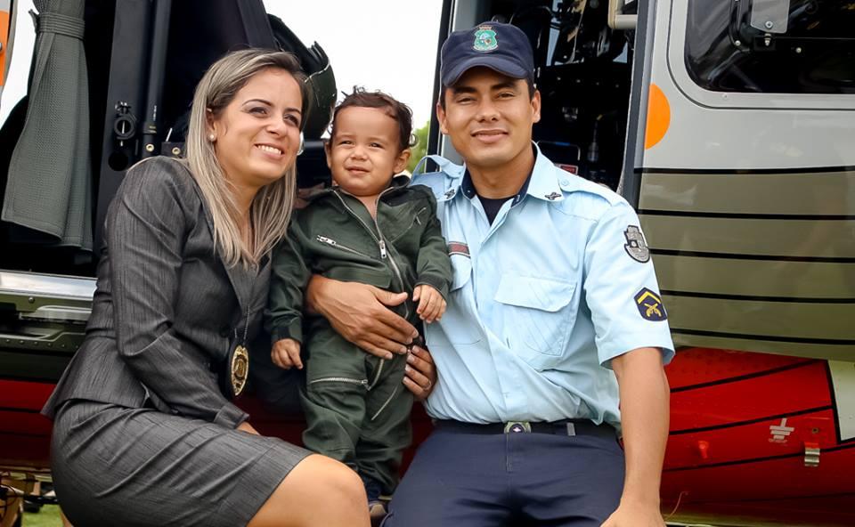 A Inspetora da Polícia Civil, Juliana Oliveira Monteiro Braga (31), destacou-se no decorrer do curso nas instruções teóricas e práticas (FOTO: Divulgação/Governo do Ceará)