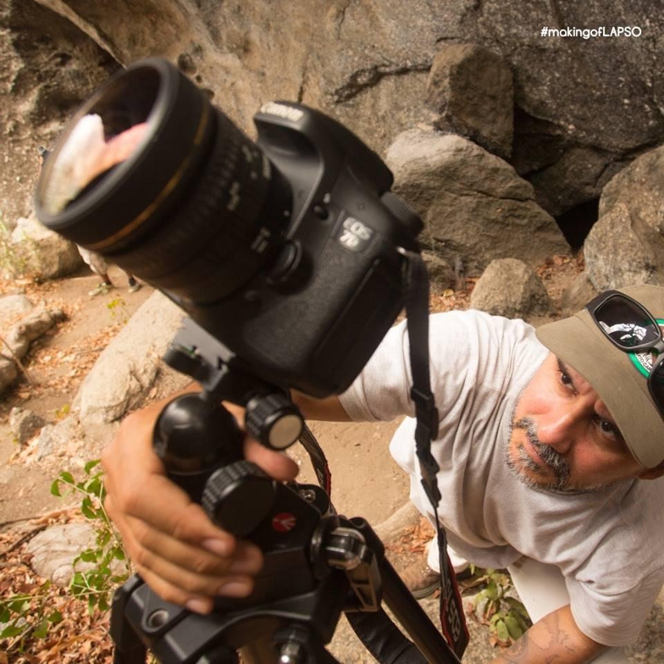Uma sequência de fotografia que se transformam em vídeo (FOTO: Projeto Lapso)