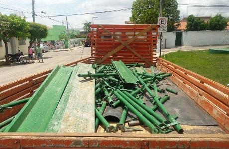 Vários BOs foram registrados na delegacia local por trabalhadores que percebiam a falta dos objetos (FOTO: Reprodução)