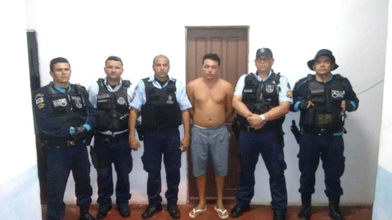 Suspeito foi preso na noite da última sexta-feira (8) (FOTO: Reprodução)