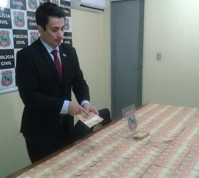 Estelionatário vendia notas falsas de R$ 20 por R$ 10