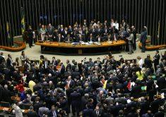 Sessão na Câmara dos Deputados (FOTO: Agência Brasil)