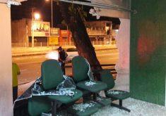 Novas portas serão de aço. (FOTO: TV Jangadeiro/ Emanuela Braga)