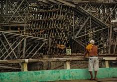 Estrutura faz parte do projeto de mobilidade urbana do município (FOTO: Fernanda Moura/Tribuna do Ceará)