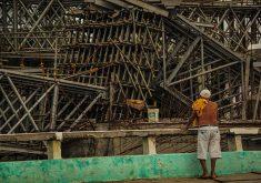 Estrutura faz parte do projeto de mobilidade urbana do município. (FOTO: Fernanda Moura/Tribuna do Ceará)