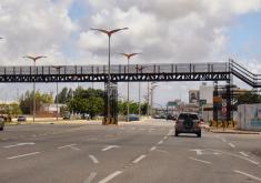 Avenida Washington Soares é uma das mais movimentadas da cidade (FOTO: Fortaleza em Fotos)
