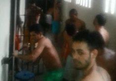 Nas rebeliões, detentos quebraram grades, mas não houve fuga (FOTO: Reprodução)