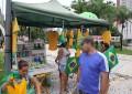 A venda informal chamou a atenção do cearense que foge do desemprego. (FOTO: Fernanda Moura/Tribuna do Ceará)