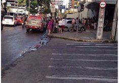 A saidinha aconteceu por volta das 17h (FOTO: Divulgação)