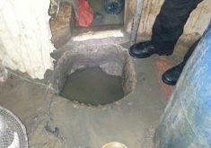 Buraco foi cavado em uma das celas da unidade (FOTO: Divulgação)