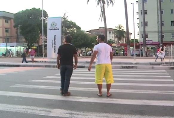 Mudanças na Avenida Bezerra de Menezes geram perigo para pedestres