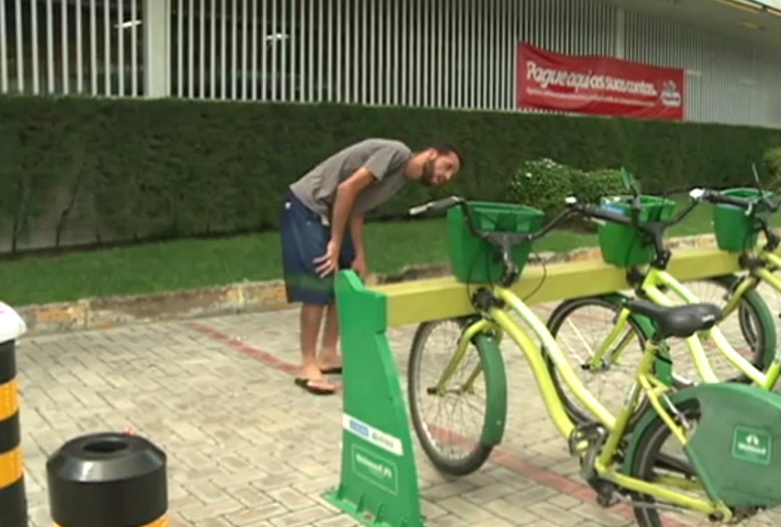Ciclistas reclamam de fraude no sistema de bicicletas compartilhadas