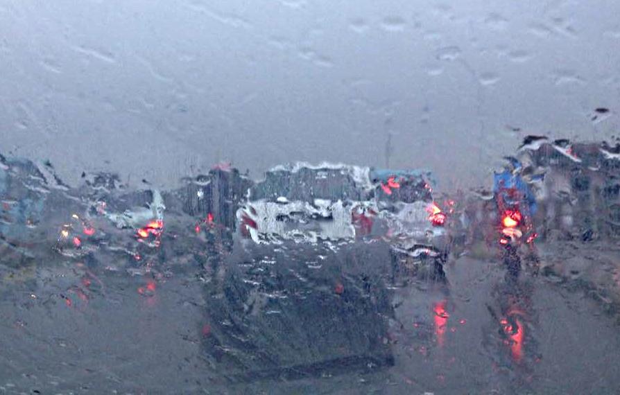 Forte chuva da madrugada só somou 56 milímetros em Fortaleza
