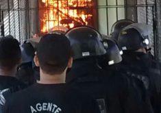 Oito presídios do Ceará tiveram rebeliões neste sábado (21) (FOTO: Reprodução Whatsapp)
