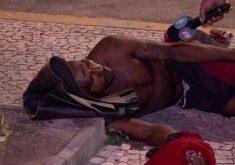 Flanelinha salvou cliente de assalto e foi espancado (FOTO: Reprodução TV Jangadeiro)