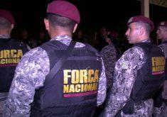 Tropa chegou na noite de quinta-feira (FOTO: Reprodução/TV Jangadeiro)