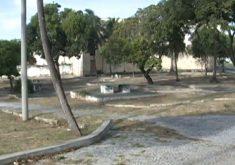 Moradores reclamam do abandono da lagoa da Parangaba(FOTO: Reprodução TV Jangadeiro)