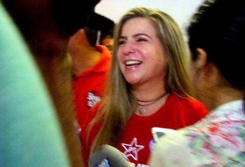 Luizianne Lins é pré-candidata do PT à Prefeitura de Fortaleza
