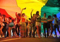 """A ação ganhou o nome de """"LGBT não vão Temer"""" (FOTO: Reprodução)"""