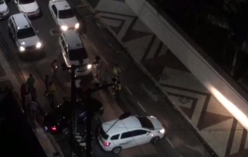 Taxista x Uber: conflito e perseguição marcam noite nas ruas de Fortaleza