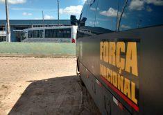 Tropa, com 120 homens, deve permanecer no estado por 15 dias, podendo ser prorrogado em caso de necessidade (FOTO: Dorian Girão)