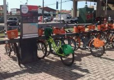 Bicicleta estacionada faz parte de outro projeto (FOTO: Reprodução)