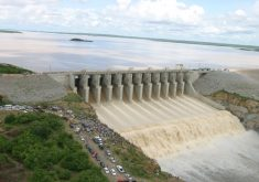 Vistoria do Crea encontrou fissura de 2,5 cm no maior açude do Ceará (FOTO: Dnocs/Reprodução)