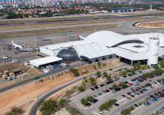Estacionamento do Aeroporto Internacional Pinto Martins (FOTO: Reprodução)