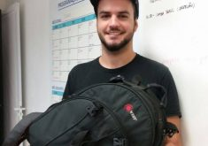 Fotógrafo recuperou equipamento com ajuda de redes sociais (FOTO: Reprodução)