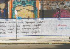 Arte chama atenção de transeuntes. (FOTO: Rodrigo de Oliveira/ divulgação)
