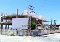 Obras estão sem prazo para conclusão (FOTO: Reprodução/ TV Jangadeiro)
