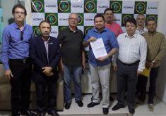 Carta foi entregue ao presidente da Associação dos Cabos e Soldados (FOTO: Divulgação)