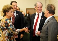 Dilma com Ciro Gomes em Fortaleza