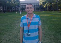 Quando chegou do MIT, Alisson Amaral foi tietado por professores e alunos. (FOTO: arquivo pessoal)
