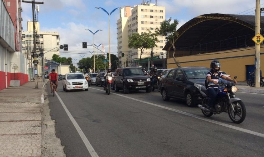 Ciclistas já contam os dias para estrear a ciclofaixa da Av. Domingos Olímpio