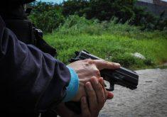 PM foi baleado na perna (FOTO: Divulgação)
