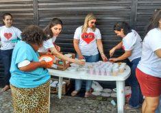 Há dois anos o Grupo Amor realiza ações beneficentes. (FOTO: arquivo pessoal)