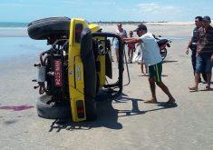 Motorista morreu no local. (FOTO: Camocim Polícia 24h)