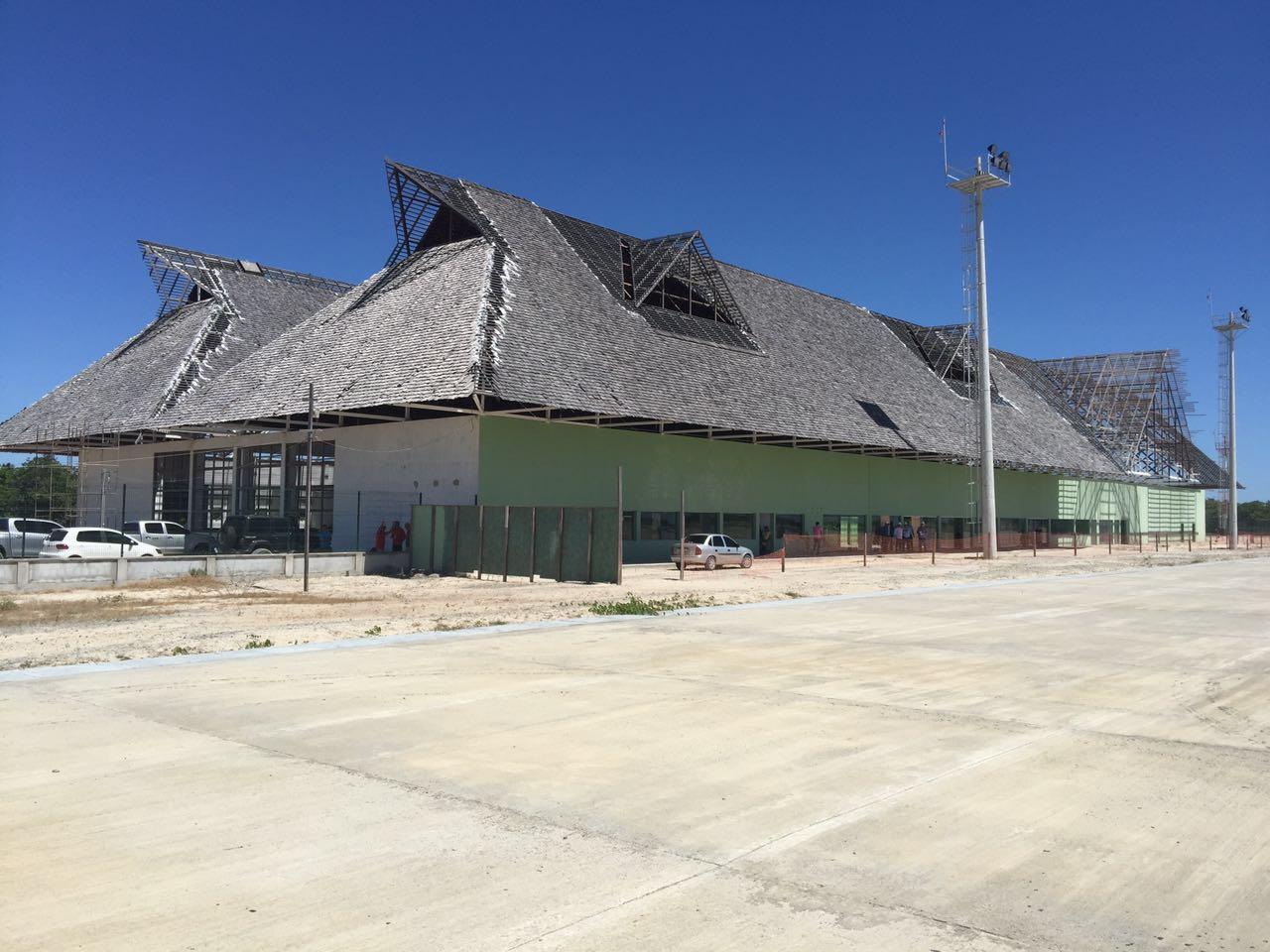 Obras do aeroporto de Jericoacoara devem ser entregues até o fim do ano