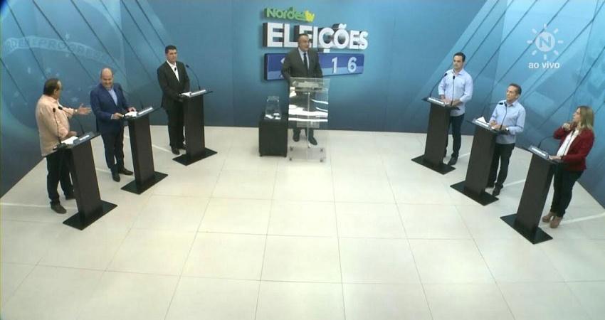 Veja como foi o debate dos candidatos à Prefeitura de Fortaleza na Nordestv