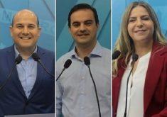 Pesquisa aponta Roberto Cláudio com 32%, Capitão Wagner com 24% e Luizianne Lins com 16% (FOTO: Emílio Moreno/Tribuna do Ceará)