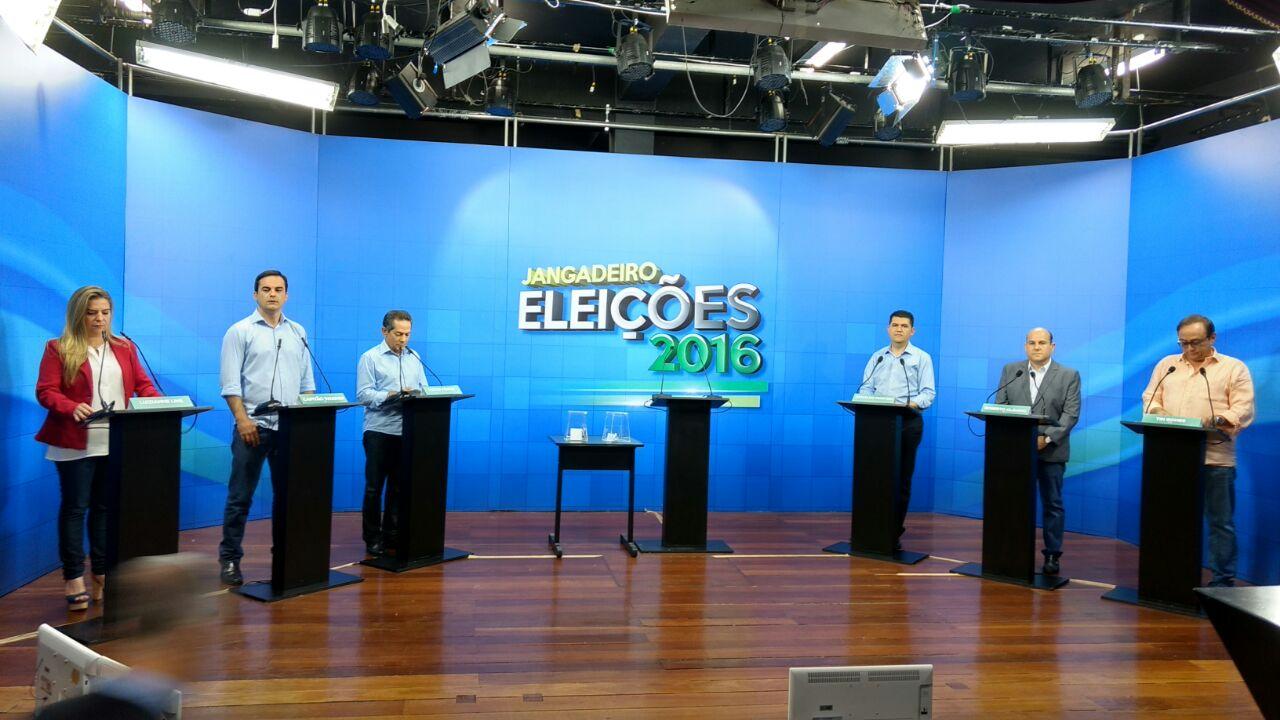 Veja como foi o debate dos candidatos à Prefeitura de Fortaleza na TV Jangadeiro