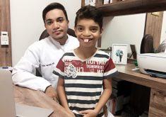 Há 1 mês o dentista divulga o trabalho para atender mais crianças. (FOTO: arquivo pessoal)