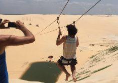 Visitantes fizeram elogios às belezas e sabores do Ceará (FOTO: Divulgação)