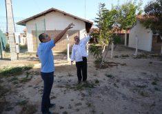 Técnicos realizaram vistoria na sede da Estação Ecológica do Pecém (FOTO: Divulgação/Semace)