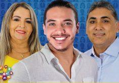 Mãe do Safadão e Antônio Cláudio foram reeleitos. (Foto: Divulgação)