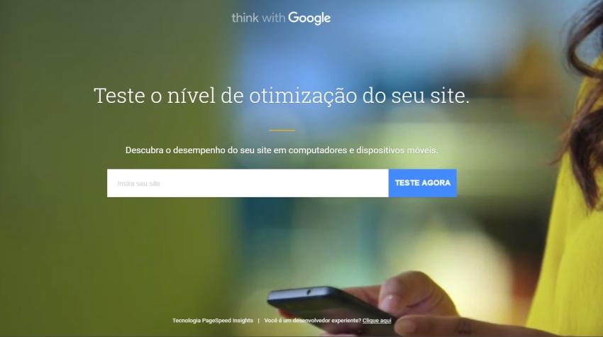 Serviço do Google testa site e diz se está preparado para smartphones
