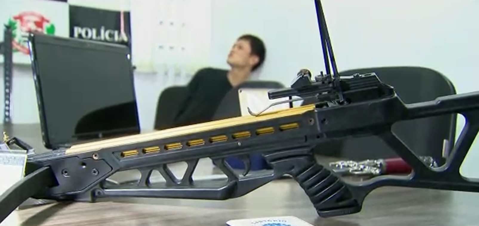 Suspeito de matar cearense com uma flecha em SP é preso