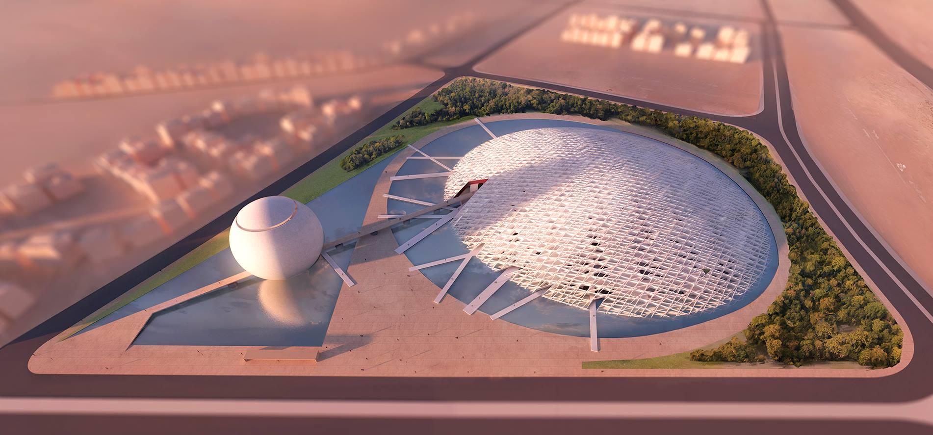 Cearense é premiado em concurso internacional de arquitetura por proposta de obra no Egito